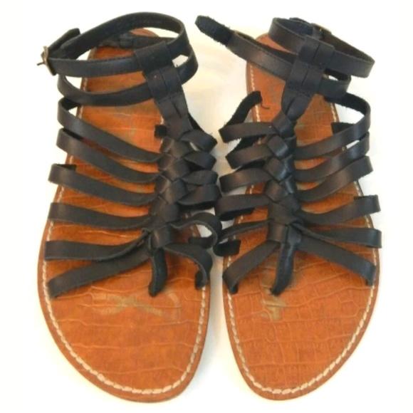 26524582d8d3 Sam Edelman Greco Leather Gladiator Sandals. M 5c79c7bc0cb5aaed25041d98